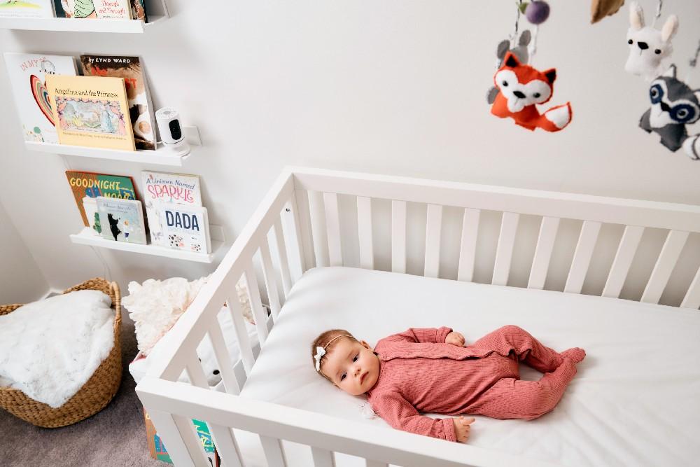 baby in crib vivint indoor camera