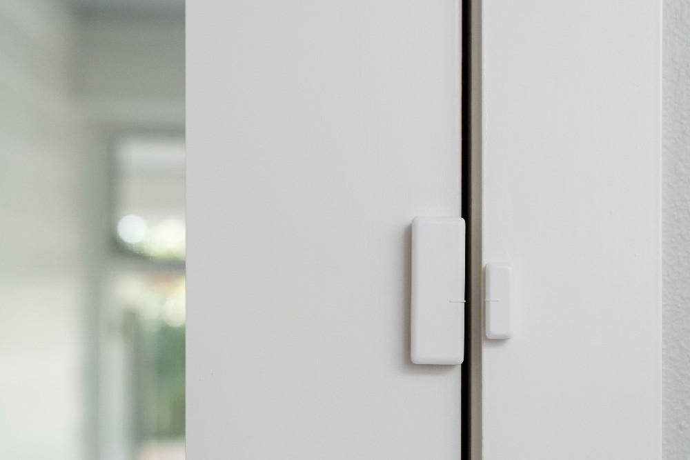 door sensor installed