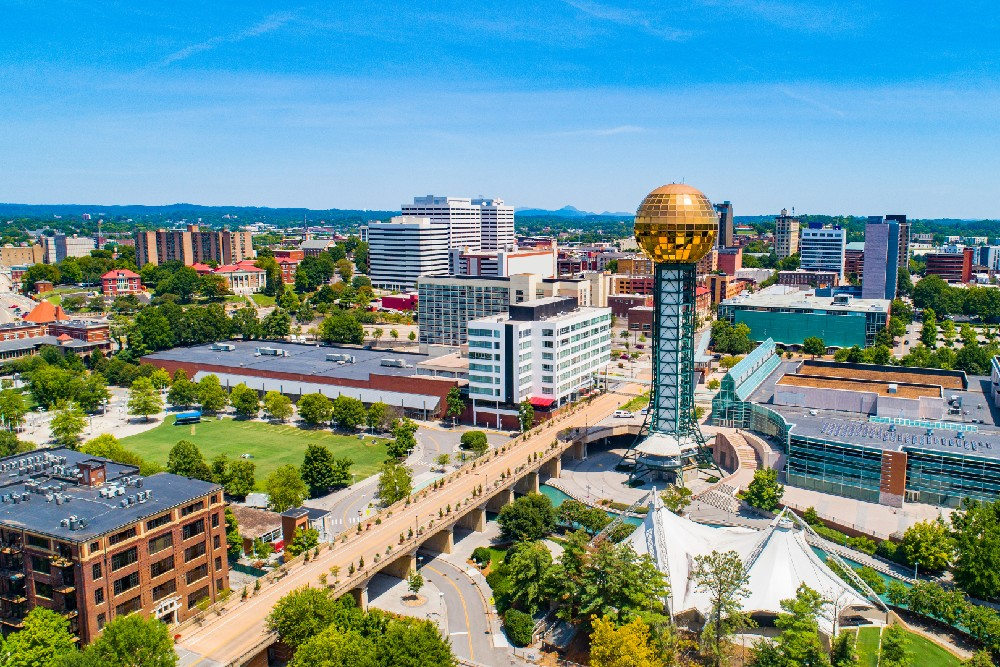 Knoxville Tennessee city image
