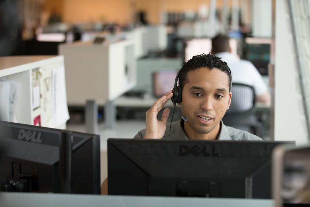 customer service monitoring representative