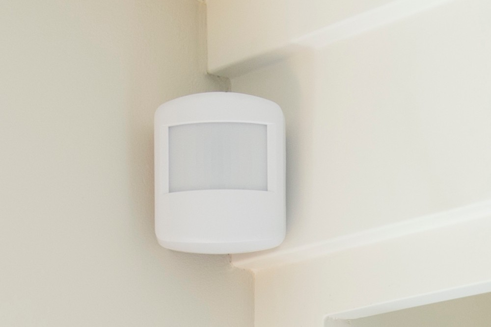 motion detector on wall