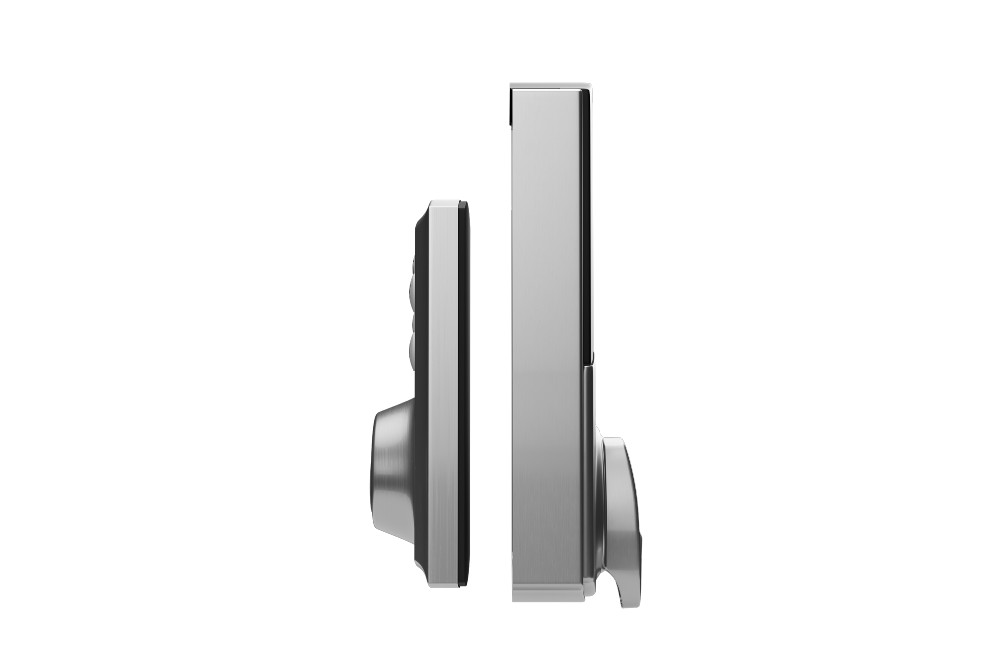 smart lock image of both sides