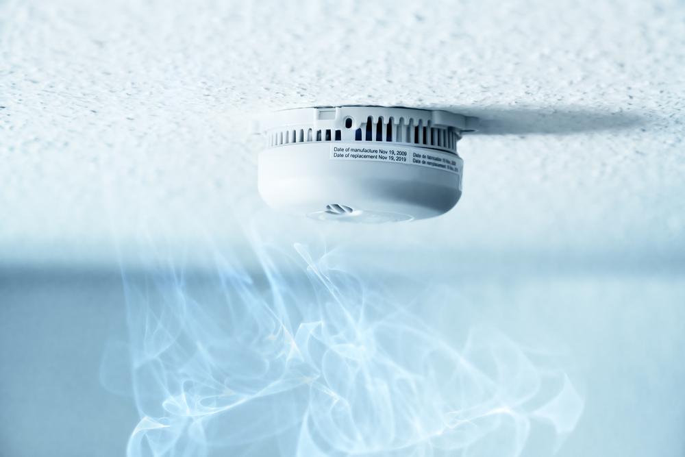 smoke under smoke detector