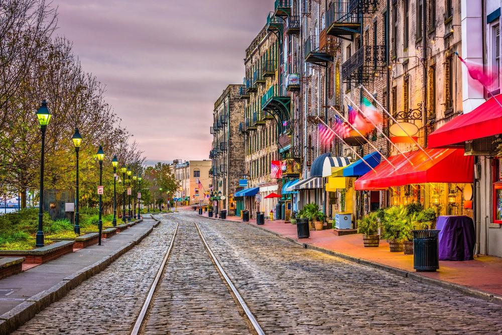 streets of Savannah Georgia