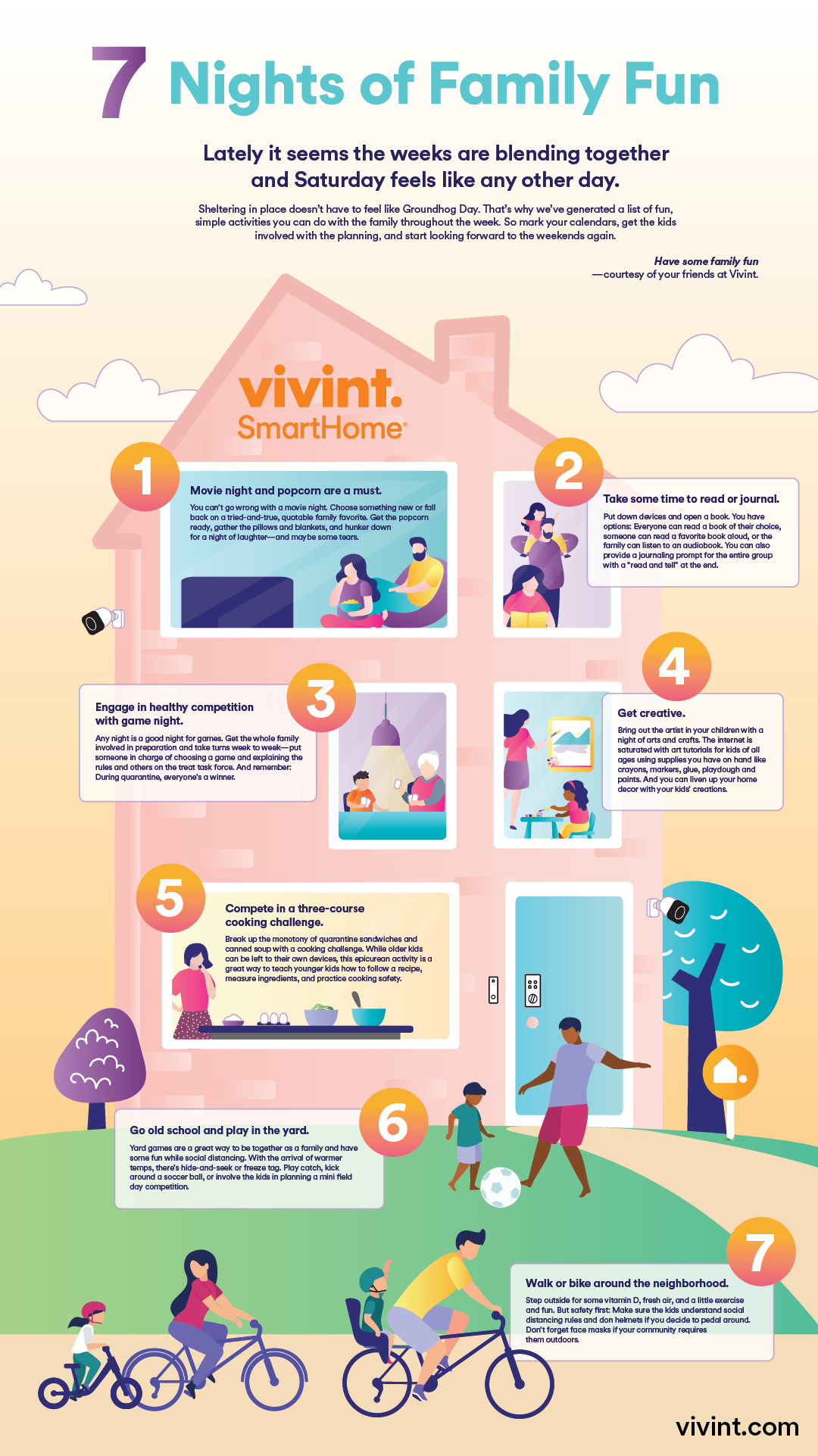 vivint seven nights of family fun
