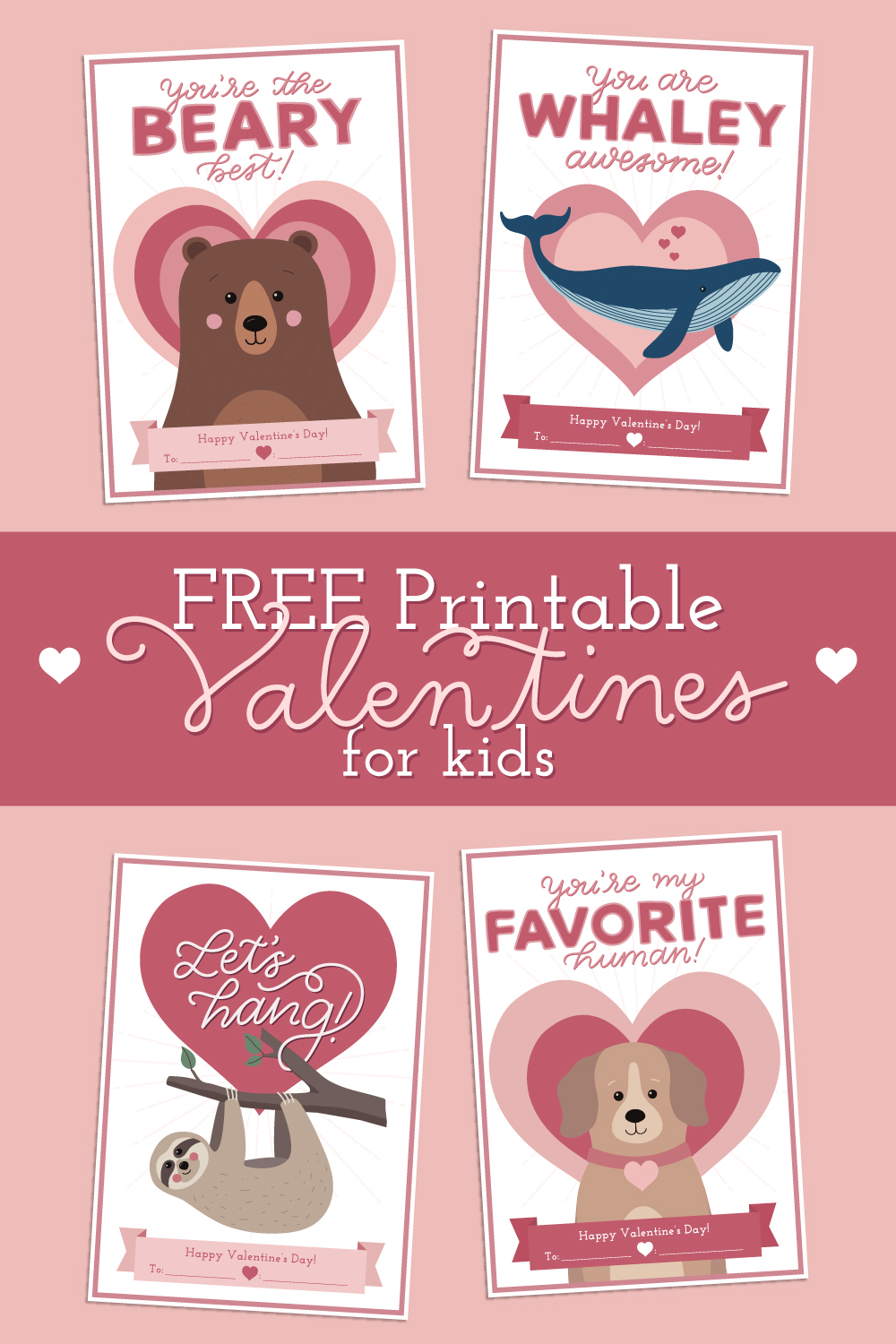 Free Printable Valentine Cards For Your Kids Vivint