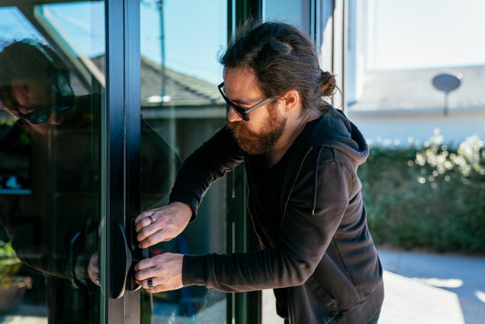 burglar back door